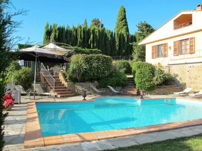 Photo for Vacation home Villa Belvedere (GRE150) in Greve in Chianti - 10 persons, 4 bedrooms