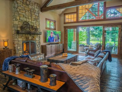 """Photo for """"Be R Guest"""" - New Golf Course Stunner! Heart of Suncadia 