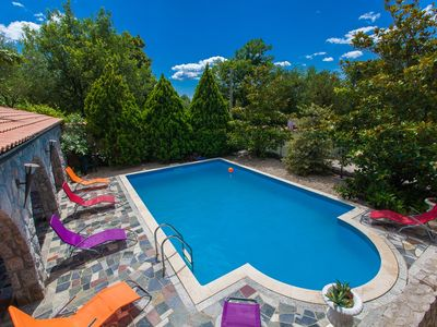 Photo for Holiday house with outdoor pool and WiFi