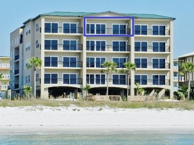 Photo for Luxury Penthouse Beachfront Condo with Rooftop Pool, Hot Tub, Elevator, WiFi, Master Suite