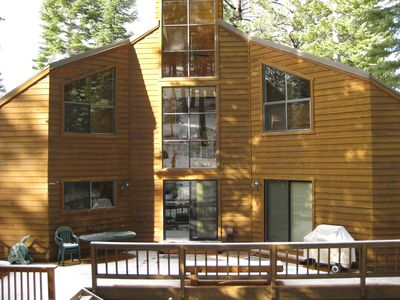 Photo for Double Decker: 3Br/3.5Ba with Large Deck and Hot Tub!