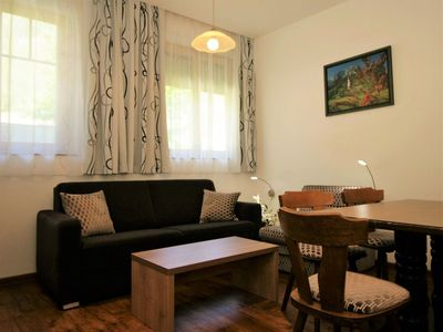 Photo for Cosy apartment for 2 people with WIFI, hot tub, TV, balcony and parking