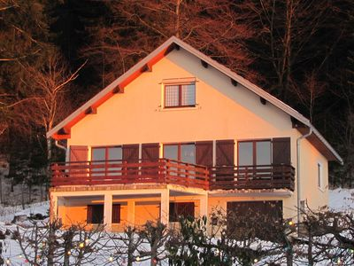Photo for House 4-8 people on a hill overlooking a lake, altitude 950 meters