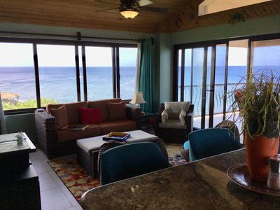 Photo for Location with spectacular views and six minute walk to the beach!!!