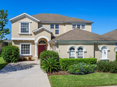 Photo for Luxury 5 BR 4.5 BA Villa - Large Pool Area and Spa, Not Overlooked, Games Room