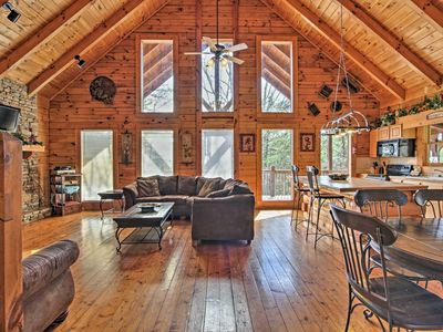 Photo for Cozy Cabin w/Private Hot Tub-3 Mi. to Pigeon Forge