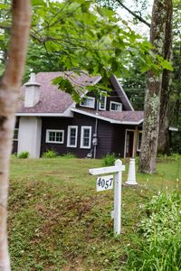 Photo for Chalet perched on a hill overlooking / access to Rawdon Lake