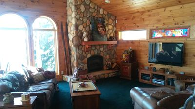 Our rustic cabin room