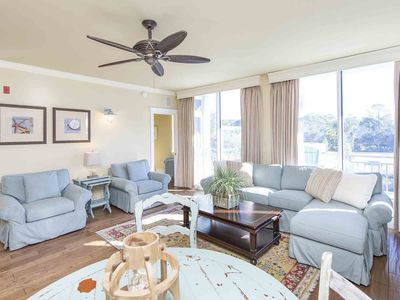 Photo for Gulf Place Condo with Stunning Views! Beach Service Included! Just Steps from the Sand!