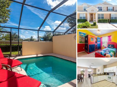 Photo for Upgraded Town home with Granite Counter tops, Kids Bedroom & Private Pool