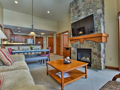 Photo for Ski-In/Ski-Out Solitude Resort Condo w/ Mtn Views!