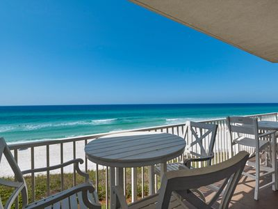 Photo for Beautiful Gulf Front Condo ~ Spectacular Views ~ Near Seaside & Rosemary Beach!!