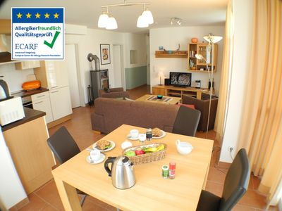 Photo for Close to the beach apartment with underfloor heating and fireplace