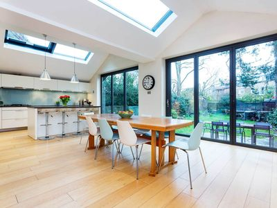 Photo for Bright 5R family home set over 3 floors in beautiful and quiet Putney, by Veeve