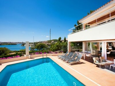 Photo for VILLA LANTANA - Class and style with incredible views over Mahon harbour