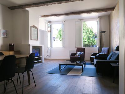 Photo for LARGE APARTMENT IN QUIET OFFERING THE CHARM OF THE TOWN CENTER