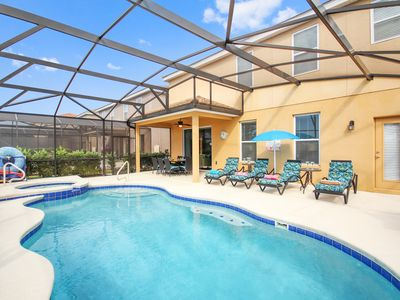 Photo for Kiwi's Retreat at Solterra Resort   South Facing Pool & Hot Tub/Spa, Lake View, Games Room, Two Master Suites, Resort Amenities Included!