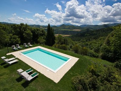 Photo for Peaceful Holiday Home in Acqualagna with Swimming Pool