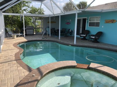 Photo for Modern Home with Pool on quiet canal minutes from the Gulf of Mexico