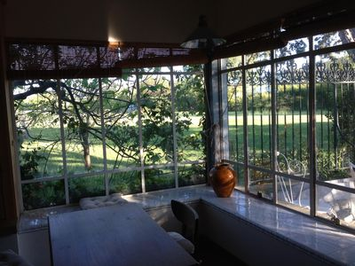 Photo for T2 cottage with terrace and garden in the countryside roque d'antheron
