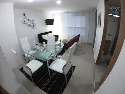Photo for SPECTACULAR MODERN AND NEW APARTMENT, NEAR THE SANTAROSA TERMALS