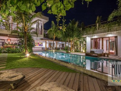 Photo for Villa Miu Luxury 7 Bedroom Villa Riverside in Heart of Canggu