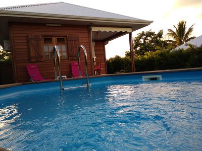 Photo for Beautiful villa with swimming-pool