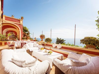 Photo for Luxury Villa With Sea View, Internal and External Pool, Private Chef, Breakfast