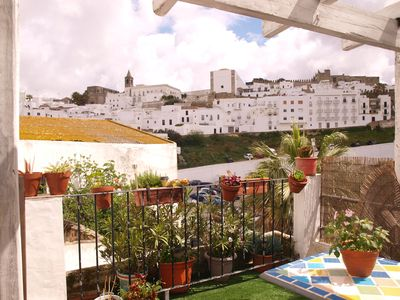 Photo for Toñi House Apartment in the old town with terrace and nice views