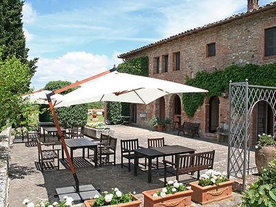 Photo for 2 bedroom Apartment, sleeps 4 in Dolciano with Pool, Air Con and WiFi