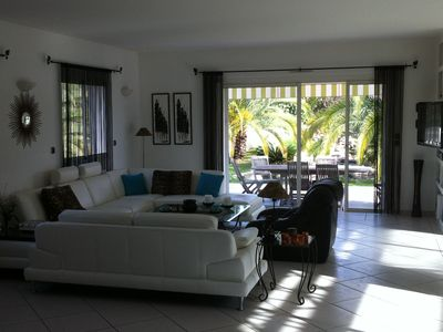 Photo for VILLA 380M2 LAND 2700m2 - HEATED INDOOR POOL - QUIET