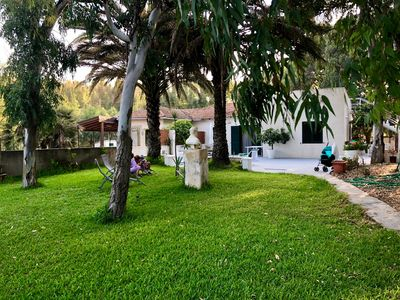 Photo for Villa with direct access to the sea, garden and over 3. 000 square meters of wooded park
