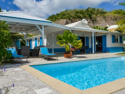 Photo for VILLA OF STANDING WITH POOL AND VIEW THE CARIBBEAN