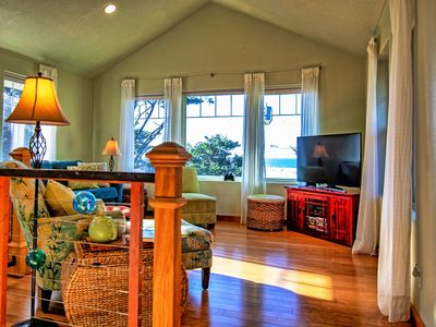 Photo for Modern, Dog-Friendly, Ocean-View  Home Steps From 7 miles of Sandy Beach