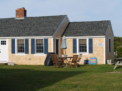 Photo for Beachfront Cape Cod Cottage with A/C, Saturday to Saturday rentals only please!