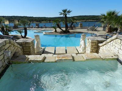 Photo for Lake front retreat at the Island on Lake Travis -1