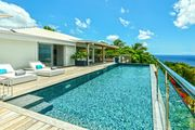 Elegant Avalon with lovely ocean sunset views, tranquil terrace with pool