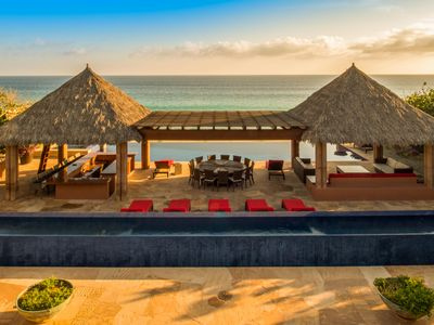 Photo for Villa Tranquilidad – Spectacular Luxury Beachfront Villa in Puerto Los Cabos