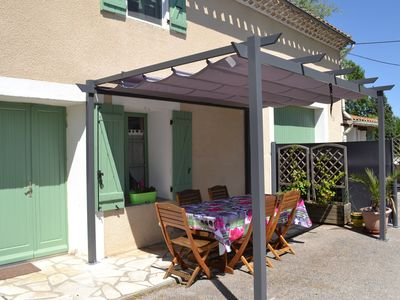 Photo for farmer's cottage between Carcassonne and Castelnaudary with heated pool