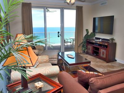 Photo for Beautiful Tropic Winds Condo! Oversized Gulf-Front Balcony, Free Beach Chairs