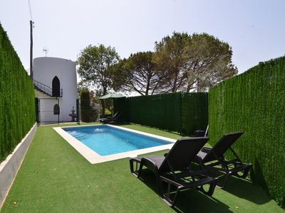 Photo for Club Villamar - Authentic Spanish villa with private pool, close to the beach of St. Cristina. A perfect destination for couples or families!
