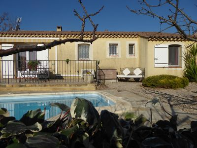 Photo for For rent in Lorgues (var) villa with swimming pool