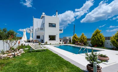 Photo for A 4-bedroom villa with a private pool, 1500 meters from the sandy beach