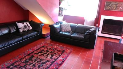 Photo for CHARMING APARTMENT IN THE VILLA A FEW STEPS FROM THE SEA