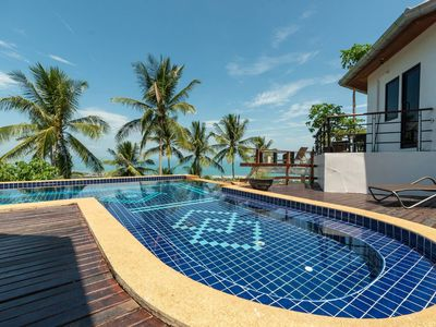 Photo for Most Relaxing 2BR + Pool - Sea & Sunset View