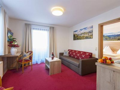 """Photo for Double room """"Gastein"""" with bath / shower, WC - Winkler, spa and sports hotel"""