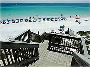 Emerald Blue Waters, White Sand  with Private Gated Beach Access