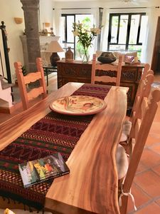 Dining room table set made in San Miguel
