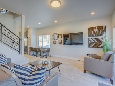Photo for Modern Rooftop Patio | New-Build Townhome in COS