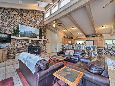 Photo for NEW! Ruidoso Home  w/ Private Wet Bar & Pool Table